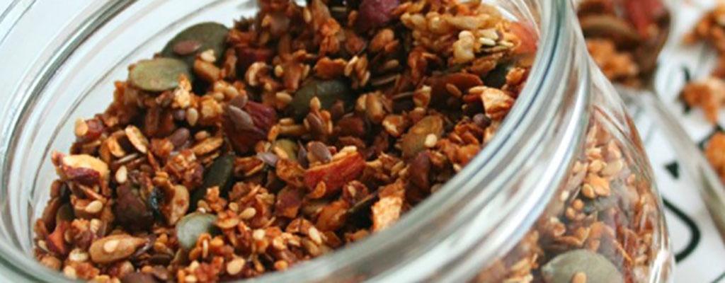 Suikerarme Crunchy Granola
