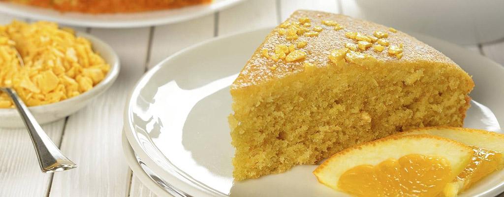 Zalige sinaasappelcake