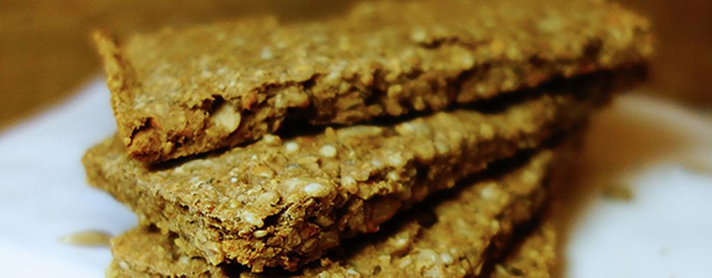 Knapperige crackers