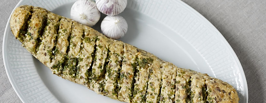 Glutenvrij knoflookbrood met rozemarijn