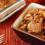 Appel kokos crumble