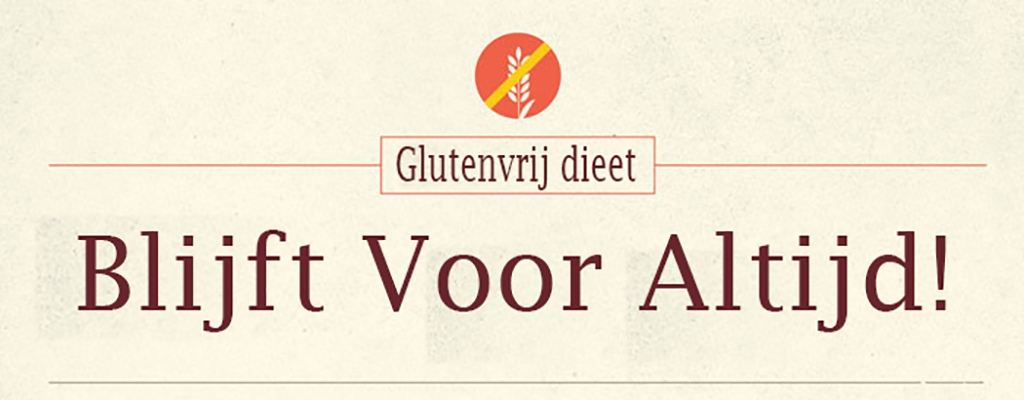 Infographic glutenvrij eten