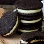 glutenvrije en suikervrije oreo koekjes