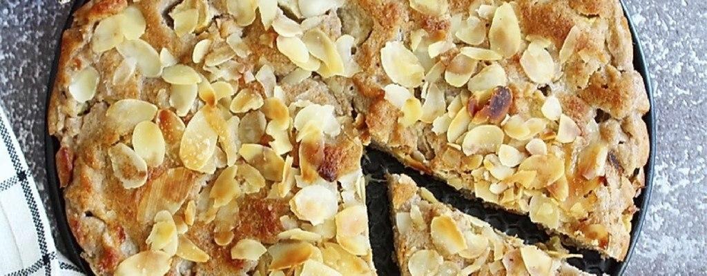 Simpele en snelle appeltaart