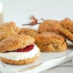 Sukrin Suikervervangers - Gezonde pompoen scones - Linda snoepgezond